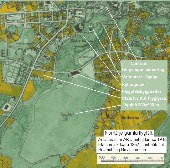 karta över norrtälje stad